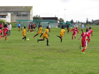 Match at Fish Hoek