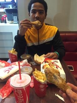 KFC with Taariq