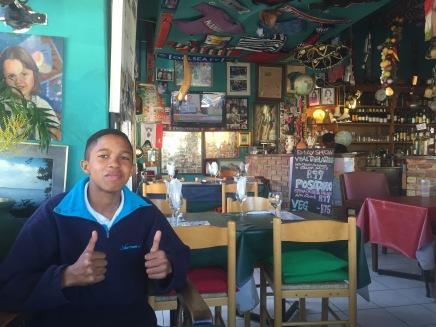 Napoli's with Antonio