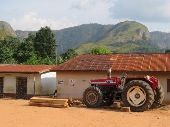 Village near Wli Falls