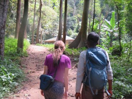 Lower Falls path