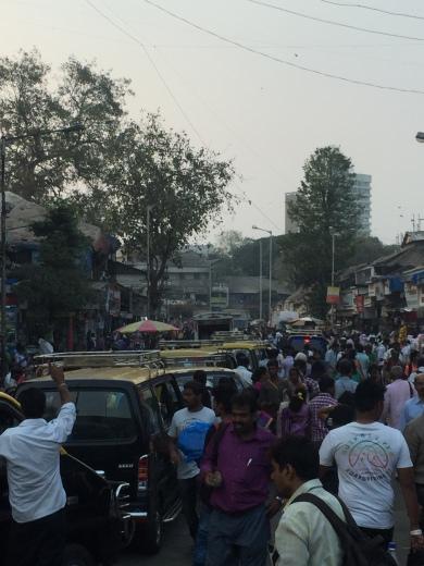 Mumbai street corner