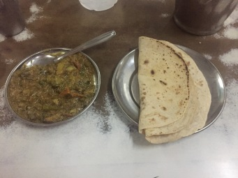 Mixed veg with chapati