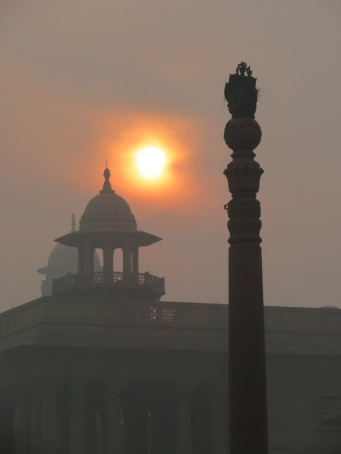 Sunrise over the Parliament House