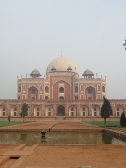 Humayun's Tomb (Model for Taj Mahal)